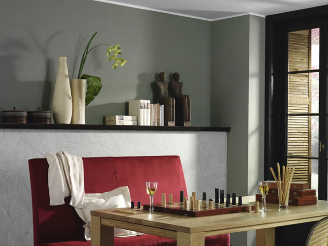 wandgestaltung ideen mit farbe. Black Bedroom Furniture Sets. Home Design Ideas
